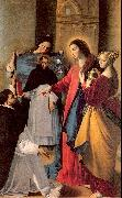 Maino, Juan Bautista del The Virgin Appears to a Dominican Monk in Seriano oil painting artist