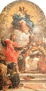 Maratta, Carlo The Assumption and the Doctors of the Church oil painting artist