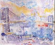 Marin, John Brooklyn Bridge oil painting picture wholesale