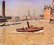 Marquet, Albert The Port of Hamburg oil painting picture wholesale