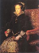 Mor, Anthonis Mary Tudor oil painting artist