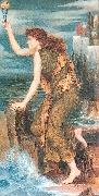 Morgan, Evelyn De Hero Awaiting the Return of Leander oil painting picture wholesale