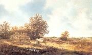 Moscher, Jacob van Dune Landscape with Farmhouse oil painting picture wholesale