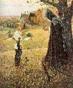 Nesterov, Mikhail The Vision to the Boy Bartholomew oil painting artist