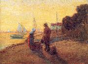 Newman, Willie Betty Shore Scene: Sunset oil painting picture wholesale