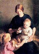 Page, Marie Danforth Mother and Child oil painting picture wholesale