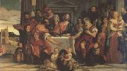 Paolo  Veronese Supper at Emmaus (mk05) oil painting picture wholesale