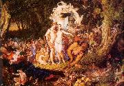 Paton, Sir Joseph Noel The Reconciliation of Oberon and Titania oil painting picture wholesale
