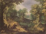 Paul Bril Stag Hunt (mk05) oil painting picture wholesale