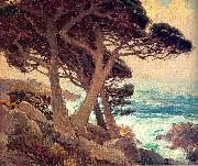 Payne, Edgar Alwin Sentinels of the Coast, Monterey oil painting picture wholesale
