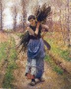 Pearce, Charles Sprague The Woodcutter's Daughter oil painting picture wholesale