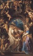 Peter Paul Rubens St Gregory the Great Surrounded by Otber Saints (mk01) oil painting picture wholesale