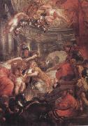 Peter Paul Rubens The Union of the Crowns (mk01) oil painting picture wholesale