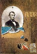 Peto, John Frederick Lincoln and the 25 Cent Note oil painting picture wholesale