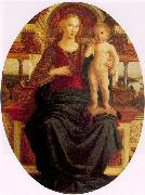 Pollaiuolo, Jacopo Madonna and Child oil painting artist