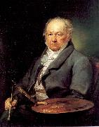 Portana, Vicente Lopez The Painter Francisco de Goya oil painting artist