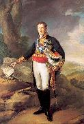 Portana, Vicente Lopez The Duke of Infantado oil painting artist