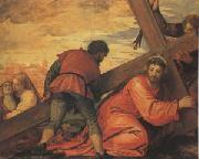 Veronese and Studio rJesus Falls under the Weight of the Cross (mk05) oil painting artist