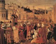 Vittore Carpaccio Stephen Preaching at Jerusalem (mk05) oil painting picture wholesale
