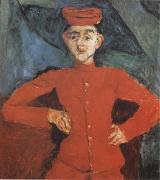 Chaim Soutine Page Boy at Maxim's (mk09) oil painting picture wholesale