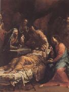 Giuseppe Maria Crespi The Death of St Joseph (san 05) oil painting picture wholesale