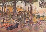 Henri Edmond Cross Evening Breeze (mk06) oil painting picture wholesale