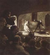 Honore  Daumier The Melodrama (mk09) oil painting picture wholesale
