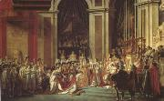 Jacques-Louis  David Consecration of the Emperor Napoleon (mk05) oil painting picture wholesale