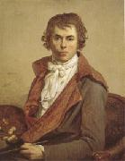 Jacques-Louis  David Portrait of the Artist (mk05) oil painting picture wholesale