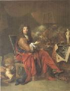 Largillierre Charles Le Brun Painter to the King (mk05) oil painting artist