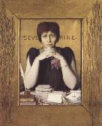 Louis Welden Hawkins Mme Severine (mk06) oil painting artist