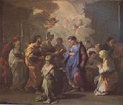 Luca  Giordano The Marriage of the Virgin (mk05) oil painting artist