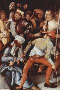 Matthias  Grunewald The Mocking of Christ (mk08) oil painting artist