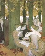 Maurice Denis The Muses (mk09) oil painting picture wholesale