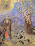 Odilon Redon The Buddha (mk06) oil painting picture wholesale