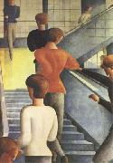 Oskar Schlemmer rBauhaus Stairway (mk09) oil painting picture wholesale