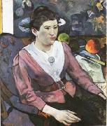 Paul Gauguin Portrait of a woman (mk07) oil painting picture wholesale