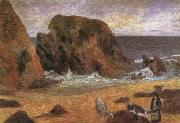 Paul Gauguin Seascape in brittany (mk07) oil painting picture wholesale
