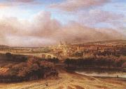 Philips Koninck Village on a Hill (mk08) oil painting picture wholesale