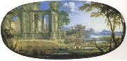 Pierre Pater The Elder Fantasti Landscape with Ruins (mk05) oil painting picture wholesale