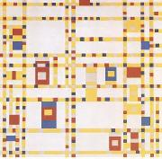 Piet Mondrian Broadway Boogie-Woogie (mk09) oil painting picture wholesale
