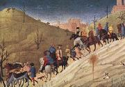 SASSETTA The Procession of the Magi (mk08) oil painting artist