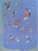 Wassily Kandinsky Sky-Blue (mk09) oil painting picture wholesale