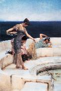 Alma-Tadema, Sir Lawrence Silver Favourites (mk23) oil painting picture wholesale