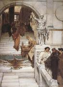 Alma-Tadema, Sir Lawrence An Audience at Agrippa's (mk23) oil painting picture wholesale