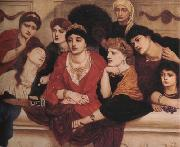 Alma-Tadema, Sir Lawrence Simeon Solomon (mk23) oil painting picture wholesale
