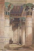 Alma-Tadema, Sir Lawrence David Roberts,Portico of the Temple of Isis at Philae (mk23) oil painting picture wholesale