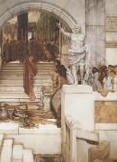 Alma-Tadema, Sir Lawrence After the Audience (mk23) oil painting picture wholesale