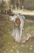 Alma-Tadema, Sir Lawrence Spring in the Gardens of the Villa Borghese (mk23) oil painting picture wholesale