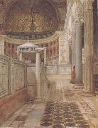 Alma-Tadema, Sir Lawrence Interior of the Church of San Clemente (mk23) oil painting picture wholesale